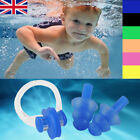 Clear Nose Clip & Ear Plugs For Swimming Glasses Goggles Kids Adults Unisex +Box