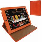 Piel Frama Cinema Leather Case Magnet Crocodile Orange for Apple iiPad Mini/M...