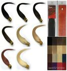 "Women Beauty 22"" Stick-tipped Straight Remy Human Hair Extensions 100s 8Colors"