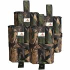 Canopy Weight Bags 4Heavy Duty Bases 55Lbs Each Wind Stand Tent Attach Legs Camo