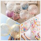 "20pcs!12"" Colorful Confetti Balloon Birthday Wedding Party Latex Helium Balloons"