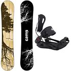 BLEM Camp7 Roots Snowboard + System MTN Bindings