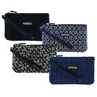 Tommy Hilfiger Womens Wristlet 2 Pocket Pouch Clutch Zip Closure Wallet New Nwt