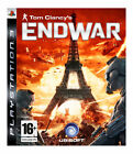 End War Sony PlayStation 3 game tin edition play the game with voice command