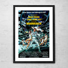 Moonraker 'James Bond' - Classic Action Cult Movie Poster Print - 1979 $50.0 AUD
