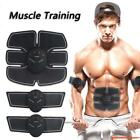 Abdomen Muscle Stimulator Training Belt Electrical Body Shape Home Trainer ABS image