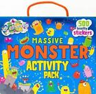 Massive Monster Activity Pack.  4 Books And 500 Stickers.  Brand New