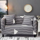 Spandex Slipcovers Sofa Cover Protector for 1 2 3 4 seater LauR Striped jyxt