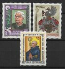 Austria 1982 Sc# 1205-1207 Mint MNH Severin hydrotherapy printer huild stamps