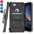 For Apple iPhone 6 / 6S Kickstand Case Belt Clip Holster Shockproof Rugged Cover