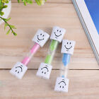 1PC 1/3/5 Minute Hourglass Kids Toothbrush Timer Smiley Sand Egg Timer Timer AB