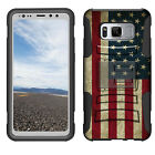For [Galaxy S8 Active] Hybrid Shock Heavy Duty Holster Case Clip Cool Design Boy