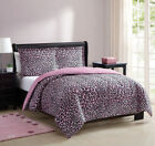 Juvy Are You Kitten Me Pink/Black Comforter Set