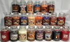 RARE Yankee Candle AUTUMN WINTER HOLIDAY  MY FAVORITE THINGS 22oz JARS RETIRED