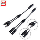1 2 Pair MC4 Y Branch Solar Panel 30A Cable Connector FFM MMF PV Wire T Splitter