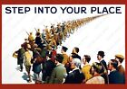 WW1+British+Propaganda+Poster+-+Step+into+Your+Place%2C+Recruiting+Poster%2C+WW1+UK