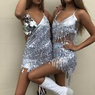 Внешний вид - General holiday DRESS Sexy Top halter Top Hip Scarf Sequined Fringe Bollywood