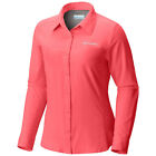 New Womens Columbia  Meadowgate  Omni-Shade Vented Long Sleeve Shirt Plus Size