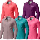 "New Womens Columbia ""Meadowgate"" Omni-Shade Vented Long Slee"
