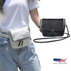 Women Luxury Leather Waist Fanny Pack Cross Body Bag Shoulder Belt Casual Wallet