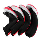 4Pcs Neoprene Hybrid Golf Club Head Cover Protector Soft Rescue Headcovers
