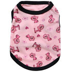 """2018 Pet apparel clothes """"tinkling cat"""" Teddy cotton small dog vest new"""