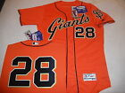 6621 San Francisco Giants BUSTER POSEY Authentic FLEX FIT ORANGE Game Jersey