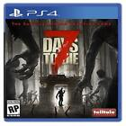 7 Days To Die Playstation 4 Brand Ps4 Games Sony Factory Sealed 2016 Creative Ne