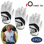 Golf Glove Men Left Hand Right Lh Weathersof Grip Leather Fit Large XL ML M S