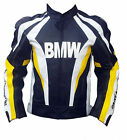 BMW Motorcycle Leather Jacket Sports Motorbike Leather Jacket Cowhide XS-4XL