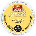 Folgers Morning Cafe Coffee Keurig 24 to 96 K cups Pick Any Size FREE SHIPPING
