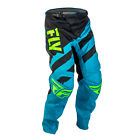 Fly Racing 2018 F-16 Youth Off Road Motocross MX Pants Bottoms - Blue/Black