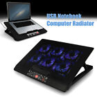 Nokia M8 Laptop Cooling Cooler Pad Stand 6 Fans 2 USB Fit 15-17 inch Notebook