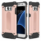For Samsung Galaxy S7 Case - Dual Layer Hybrid Shockproof Hard Armor Cover