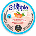 Snapple Diet Peach Iced Tea, 22 to 88 count Keurig K cups Pick Any Size