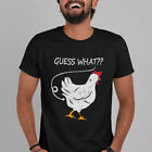 Guess What? Chicken Butt Funny Graphic T-Shirt Gift Idea
