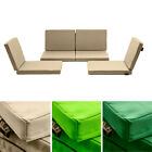 Water Resistant Replacement Cushion Covers 8pc Rattan Garden Outdoor Furniture