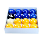 """Blue and Yellow 2"""" Pool Ball Set £29.99 GBP on eBay"""
