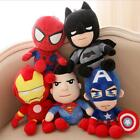 Внешний вид - 25CM The Avengers Plush Toys Action Figures Lovely Cloth Doll for Children Gift