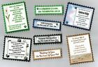 4 LOSS OF PET PET SYMPATHY  Greeting Card Craft Verse Toppers W/WO Sentiments
