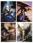Fantasy Art Greeting Card by Anne Stokes - Blank for any Occasion