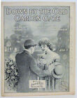 DOWN BY THE OLD GARDEN GATE Sheet Music 1913