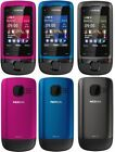 Brand New NOKIA C2-05 (Unlocked) GSM Cheap Mobile Phone Slide Touch &Type Phone