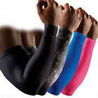 Compression Sports Elastic Fitness Elbow Arm Sleeve Brace Support Pain Relief UA
