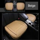 Universal Car Seat Cover Breathable PU Leather Pad Mat Chair Cushion Protector D