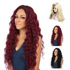 Kinky Curly Synthetic Lace Front wig High Density Hair Wigs For Women 3 Color