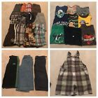 Huge 26 Piece Lot Of Boys 3T Shorts, Shirts, Pants, Overalls EUC