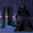 Star Wars 7 VII The Force Awakens Lord Dark Jedi Kylo Ren Cosplay Boots Shoes $49.29 CAD on eBay