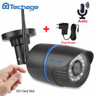 Techage 1080P Wireless Night Vision Audio CCTV Security Camera by SD Card Record