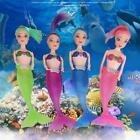 ABS LED Swimming Luminous Mermaid Doll Shower Waterproof Bath Pool Toy